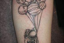 air balloon tattoo