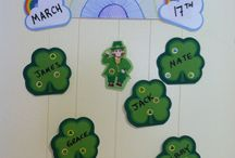 St. Patrick's Day! / Fun and creative St. Patrick's Day classroom ideas with Creative Shapes Etc. items!