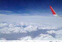 Foto in volo / Immagini ad alta quota scattate in volo sui cieli d'Europa