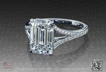 Herr / Emerald cut rings