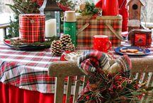 Karácsonyi hangulat, dekoráció