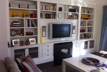 Book Cases / Book case joinery made by James Lee=Warner Furniture