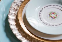 Food & table place settings