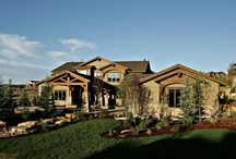 Mountain Ranch Estates - Park City / When Lane Myers Construction built this beautiful mountain home in 2007, we never could have dreamed of how successful it would be in the Park City Area Showcase of Homes. Designed with the mountainous area's views in mind, this home contains all of the amenities of a comfortable vacation home, yet the rugged details that allow it to fit in seamlessly with the community and natural landscape.