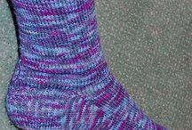 Two needle socks