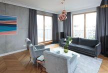 Szary salon/grey living room