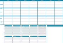 Printables, Templates, and Organization Tools