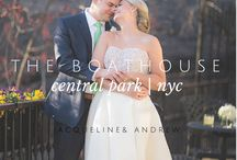 The Boathouse Weddings, NYC / The iconic Loeb Boathouse is an exquisite yet intimate setting for a wedding reception nestled in Central Park, NYC.  Photography by Berit Bizjak of Images by Berit .  Berit is a NYC wedding photographer.