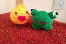 Lil critters / Amigurumi crochet friends