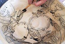 desenhar na ceramica