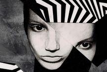 Monochromes / When Art goes black & white.