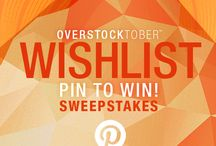 Wish List Pin to Win / Overstock Contest
