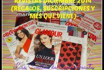 Revistas del més / Cada més, hago una entrada en el blog con las revistas que he comprado y las que no, con la información que pueda encontrar.
