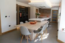 The Ultimate Kitchen Design in Colne / The Robertsons combined three spaces into one to create the ultimate kitchen - the heart of their new home.