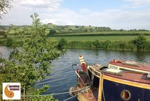 Kennet and Avon Canal / The stunning views our students will enjoy during their English language course. And a few glimpse of their accommodation, too...