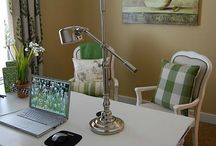 Little crafty office / Ideas for sprucing up my little office / by Belinda Stuetelberg