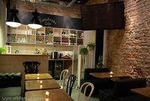 Kwadrans Cafe / Nowe wnętrze Kwadransa, projekt Mateusz Brajczewski