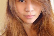 lighter hair for asians