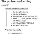 Writer things :3