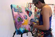 Arbejdende kunstnere