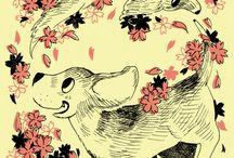 my illustration & graphic / http://kametsuru.co