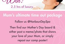 Mother's Day / This is a Group Board for Harbour Day Spa's Mother's Day Competition 2016. Simply repin our competition poster, or inbox us to gain access to post a comp entry to this group board – good luck!