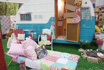 Camp caravans