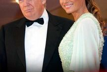 President Donald J. Trump with First Lady Melania Trump