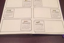 Bujo Future Log:Yearly Overview