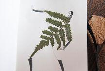 Inspo til tegning/collage