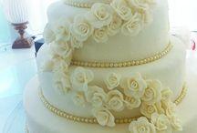 Bolo Cascata de Flores / Bolo especial Cascata de Flores para Casamento por Ana Barros Bolos
