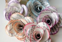Paper - flowers made from paper