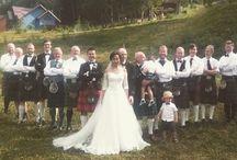 Шотландско-казахская свадьба
