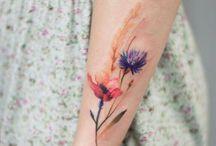 Bloem tattoos