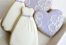 *Wedding/B Shower Cookie Ideas