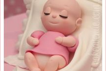 Girl Baby shower Cakes & Figurines / by Isabella Wisterfield