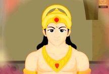 Bal Ganesh, Krishna & Hanuman / by Navin Daswani