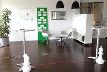 Office & Raum für Kreativität / Schöne Räume und Setup Designs für Team-Kreativität