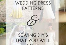 Wedding // sew your own dress