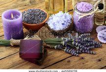 beauty products / Bacheca dedicata a prodotti per la cura del corpo