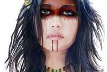 Tribal Makeup/Warpaint