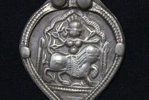 antique indian amulets