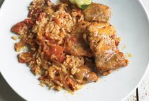Martha Stewart Chipotle Chicken and Rice - One Pan / Mexican