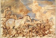 """En selle ! / In the saddle ! / """"Le vent du paradis est celui qui souffle entre les oreilles d'un cheval"""" ~ proverbe arabe """"The wind of heaven is that which blows between a horse's ears"""" ~ Arabian Proverb / by Musée du Louvre"""