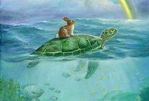 Hare turtle