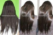 cauterização de cabelo