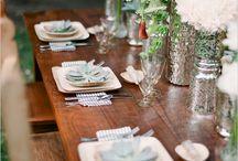 Belles tables de mariage