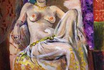 Фовизм / Фовизм локальное направление в живописи, возникшее во Франции в начале 20 века. Изначально группа французских художников, среди которых самой заметной фигурой был Андре Матисс, объединились на основе своего видения живописи. Они отдавали предпочтения цветовой гамме и минимализации фигур и объектов.Считается, что фомизм это логическое продолжение развития творчества пост импрессионистов (Ван Гога и Сезана).