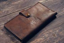 Кошельки / Кошельки, портмоне, кардхолдеры, бумажники ручной работы из натуральной кожи