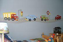 AJ's big boy bedroom / by angela malone